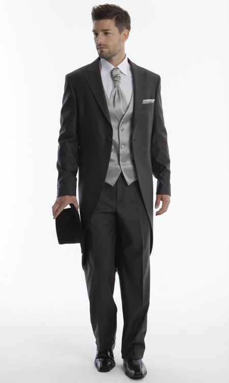 costume-de-marié-queue-de-pie-3 pièces chemise d5bce94152f