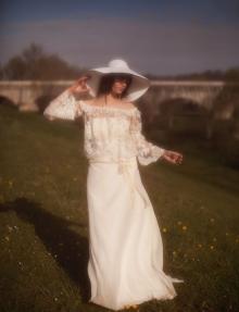 Robe de mariée manches longues à Toulon Var