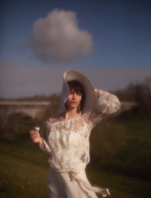 Robe de mariée manches longues Toulon Var