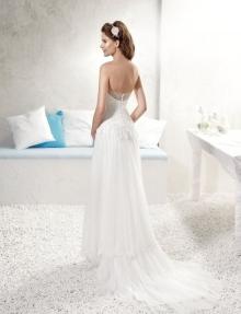 Robe de mariée dos nu à Toulon Var