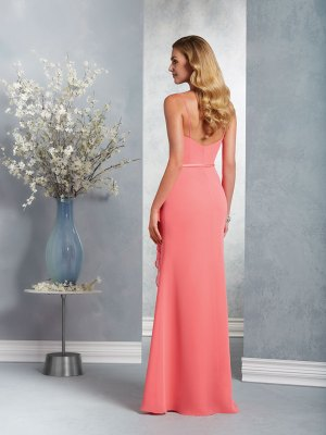 robe-de-cocktail-DS7403-longue-corail-toulon-var-83-dos