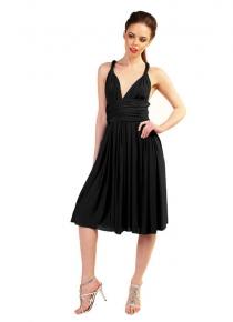 robe-multipositions-courte-noire