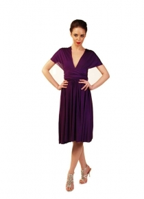 robe-multipositions-courte-violette
