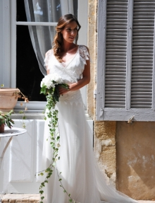 Robe Coco  des Mariées de Provence Toulon Var 83