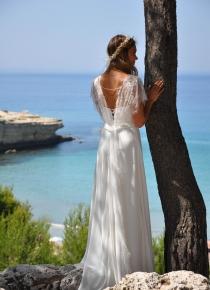 Robe de mariée Frigolet  des Mariées de Provence