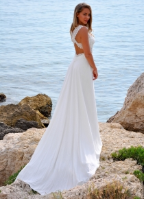 Robe de mariée Julia  des Mariées de Provence