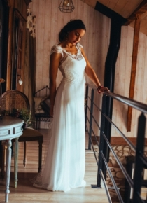 Robe de mariée Saphir Elsa Gary Toulon Var 83