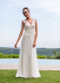 Robe de mariée Santorin  de Valandry