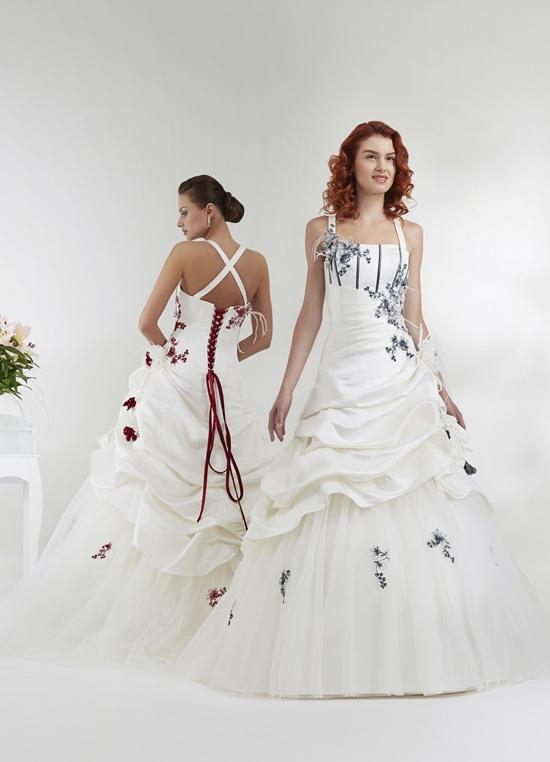 """Robe de Mariée """"Bordeaux"""" Annie Couture"""