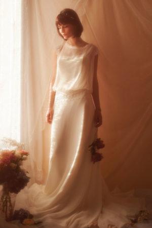 Robe de Mariée Bohème Soreen Elsa Gary