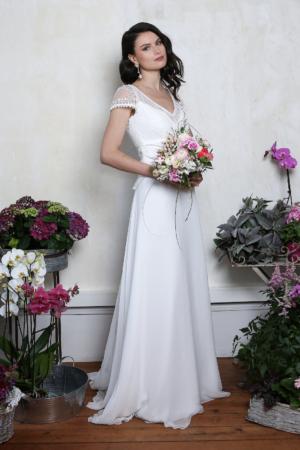 Robe de Mariée Bohème Opéra Elsa Gary