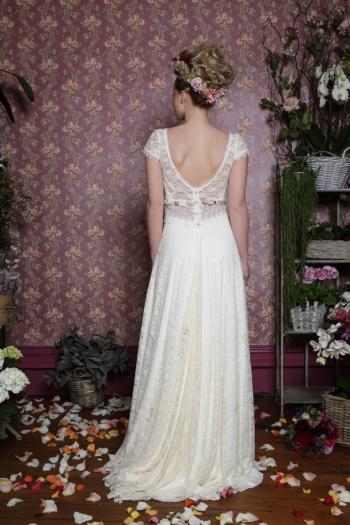 Robe de Mariée Vintage Coquelicot Elsa Gary