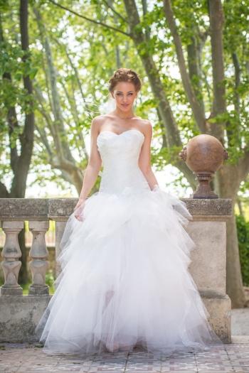 Robe de Mariée A La Folie Les Mariées de Provence