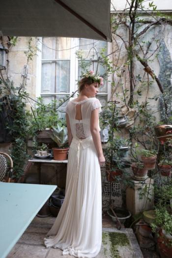 Robe de Mariée Rétro Marjolaine Elsa Gary