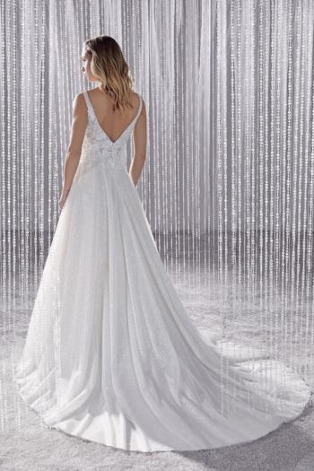 Robe de Mariée Pailletée KS206-17 Kelly S