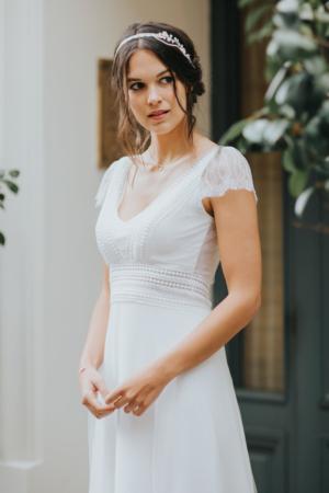 Robe de Mariée Bohème Floriane Elsa Gary