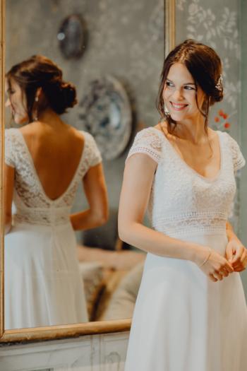 Robe de Mariée Bohème Jasmin Elsa Gary