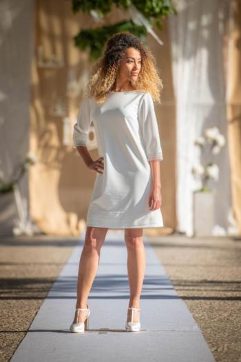 Robe de Mariée Coton Les Mariées de Provence