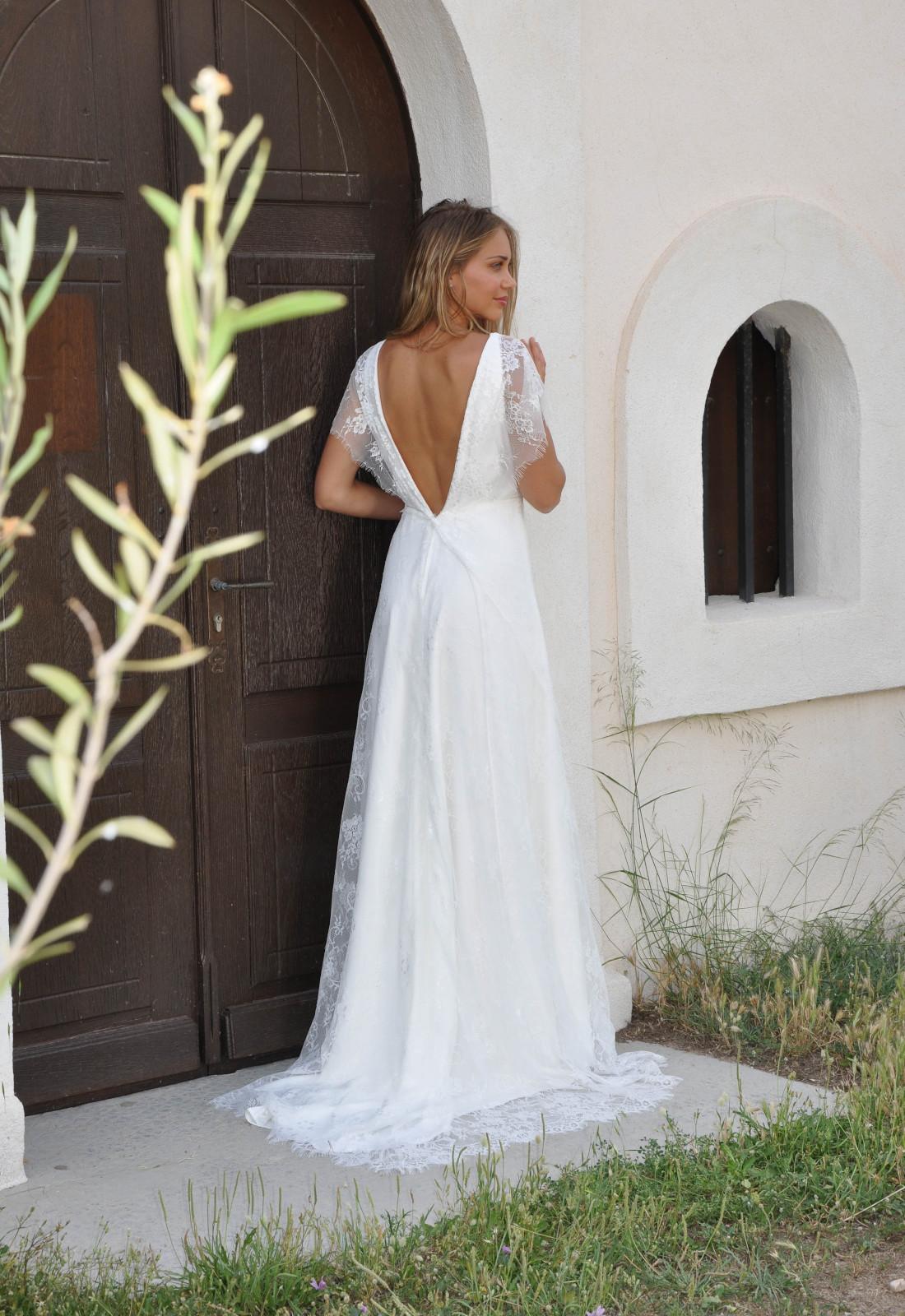 Robe de Mariée Fiona des Mariées de Provence,