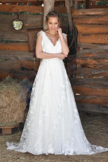 Robe de Mariée Liane des Mariées de Provence