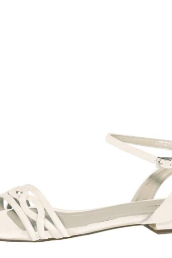 Chaussures De Mariée Plate Faye
