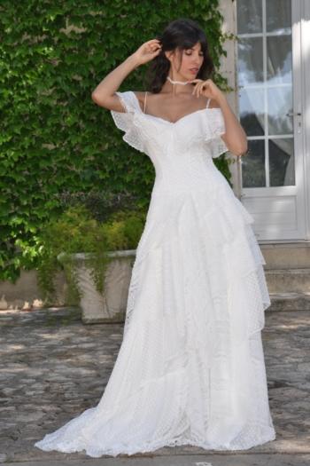 Robe de Mariée Gabrielle Les Mariées de Provence