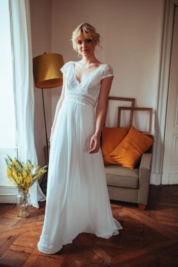 Robe de Mariée Ombeline Elsa Gary