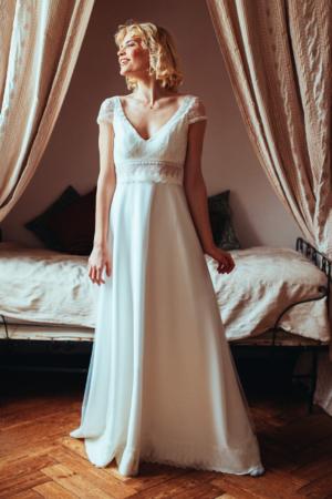 Robe de Mariée Charlotte Elsa Gary