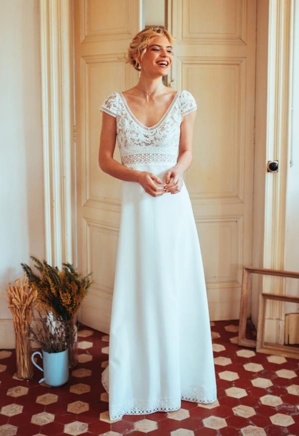 Robe de Mariée Josephine Elsa Gary