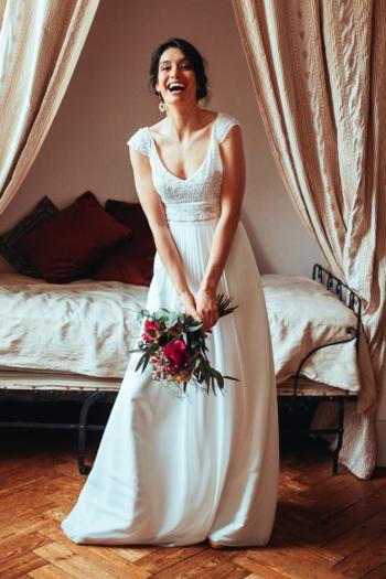 Robe de Mariée Ombretta Elsa Gary