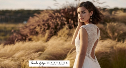 robe de mariee Marylise rembo styling