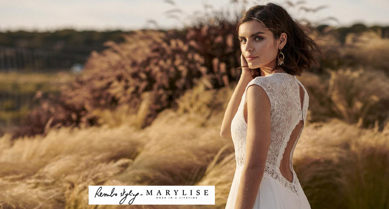 Les robes de mariées Marylise Rembo Styling