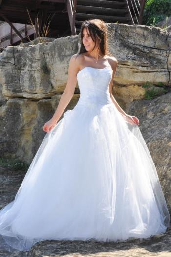 robe de mariée Calade Les Mariées de Provence
