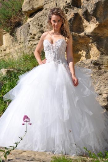robe de mariée Elisa Les Mariées de Provence
